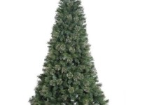 Vickerman 4.5′ Unlit Butte Mixed Pine Artificial Christmas Tree with Metal Stand