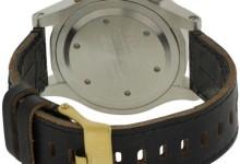 Nixon Chronograph Leather Mens Watch A3631884 1