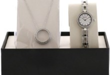 Bulova Stainless Steel Necklace Set Ladies Watch 96X130 3