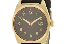 Armani Exchange Leather Ladies Watch AX2306